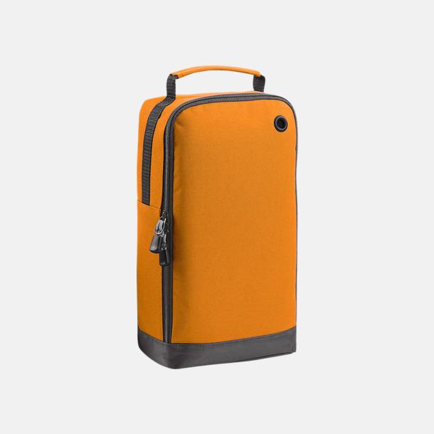 Orange Sportväskor med plats för skor - med reklamtryck