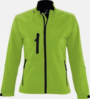 Absinthe Green (dam) Softshell jackor i herr- & dammodell med reklamtryck