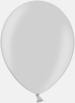 061 Silver Ballonger i unika färger med eget tryck