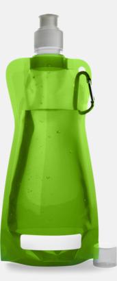 Grön Reklamvattenflaska med egen logga