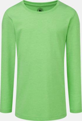 Green Marl (flicka) Färgstarka långärms t-shirts i herr-, dam och barnmodell