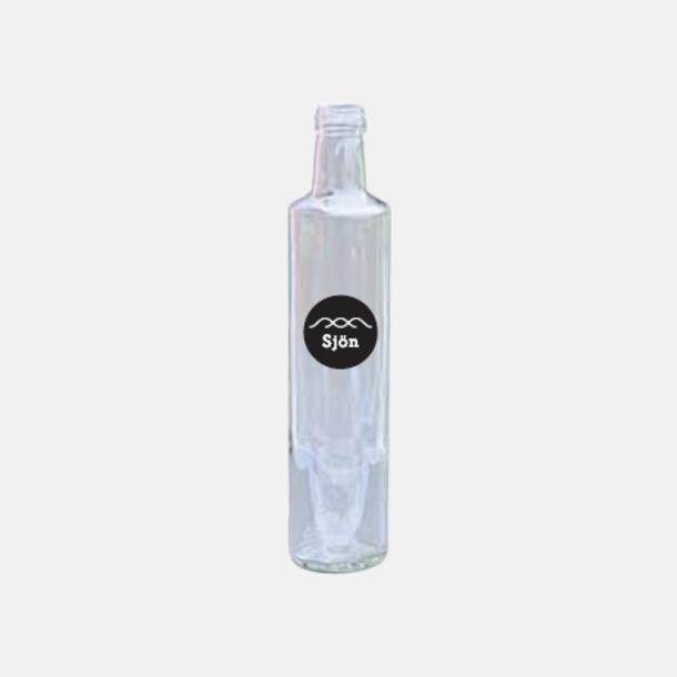 75 cl (skruvkork) Tomma glasflaskor i flera storlekar med reklamtryck