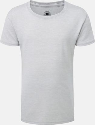 Silver Marl (flicka) Barn t-shirts i u- och v-hals med reklamtryck