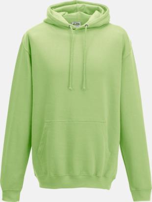 Apple Green Billiga collegetröjor i unisexmodell - med tryck