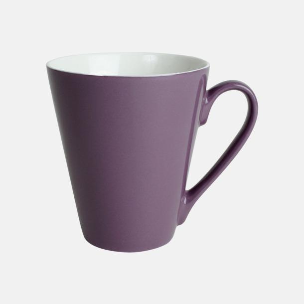 Lila Klassiskt kaffekopp i mångar fina färger