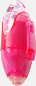 Rosa Äggformade markeringspennor