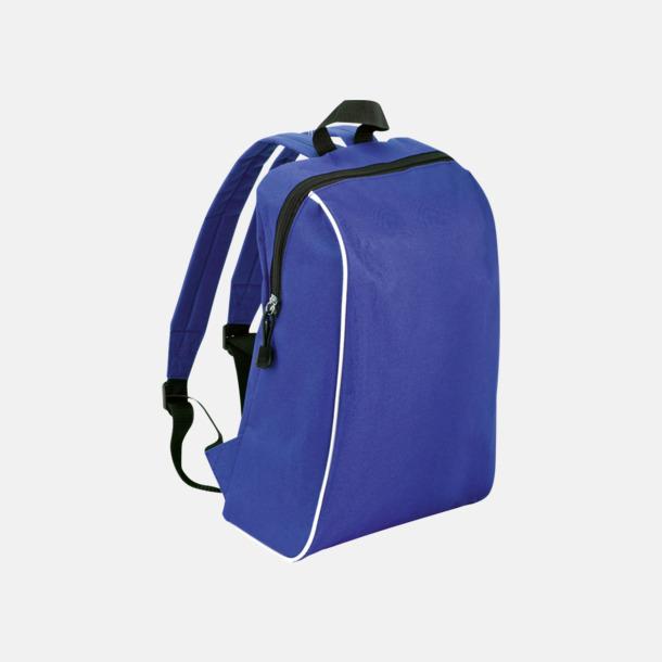 Blå Sportiga ryggsäckar i retro