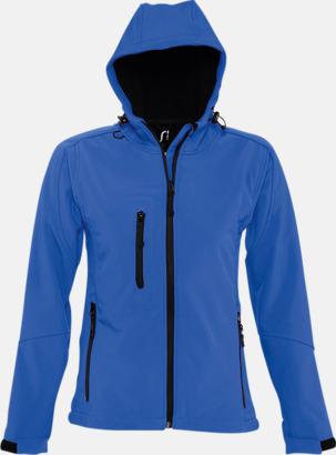 Royal Blue (dam) Softshell jackor i herr-, dam- & barnmodell med reklamtryck