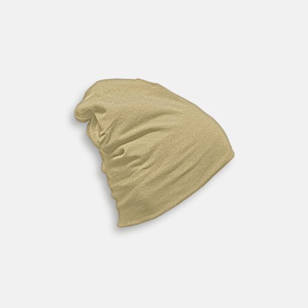 Khaki Skräddarsydda bomullsmössor med fleecefoder