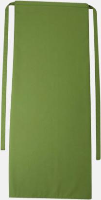 Leaf Långa förkläden i många färger med reklamtryck