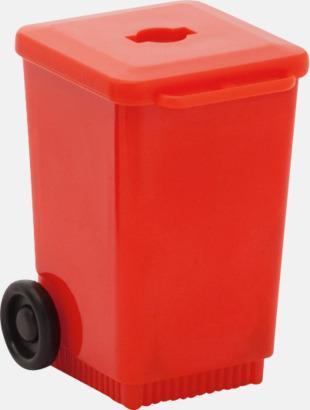 Röd Roliga pennvässare med tryck
