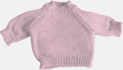 Baby Pink Tjocktröjor för kramdjur med reklamtryck