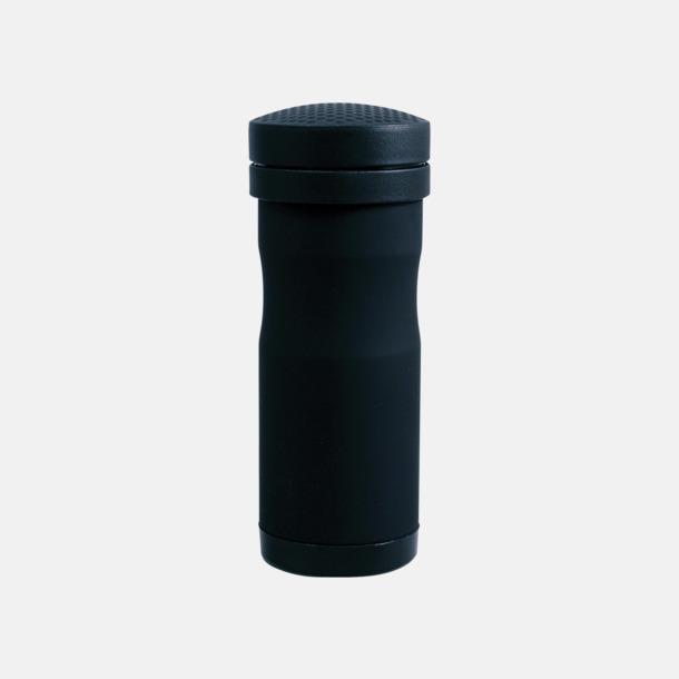 Svart matt Termosmugg för bilen. Ta med dig en take away kaffe i bilen- utan att spilla!