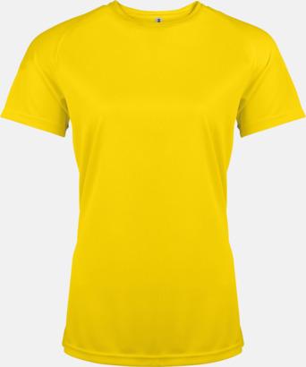 True Yellow Sport t-shirts i många färger för damer - med reklamtryck