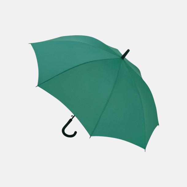 Grön Paraplyer med reklamtryck