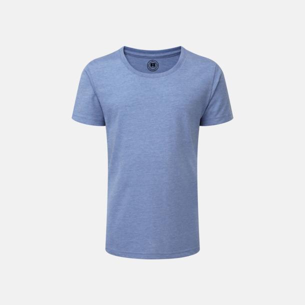 Blue Marl (flicka) Barn t-shirts i u- och v-hals med reklamtryck