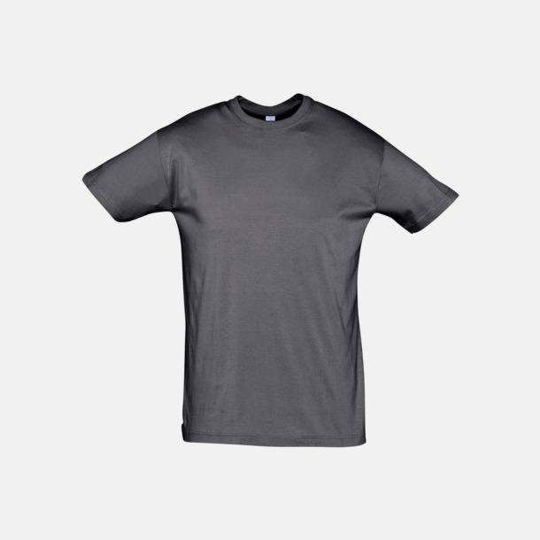 Mouse Grey (solid) Billiga unisex t-shirts i många färger med reklamtryck