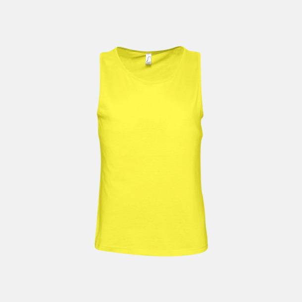 Lemon (herr) Billiga linnen med tryck av egen logo