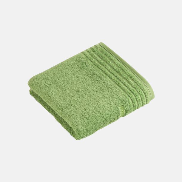 Mid Green Handdukar i 3 storlekar med reklambrodyr