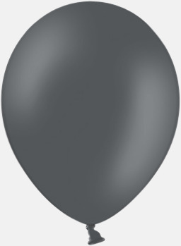 Wild pigeon (PMS 7540) Ballonger med tryck