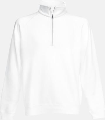 Vit Sweatshirt med tryck