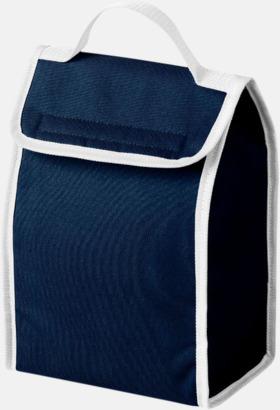 Marinblå Liten kylväska för lunchen med reklamtryck