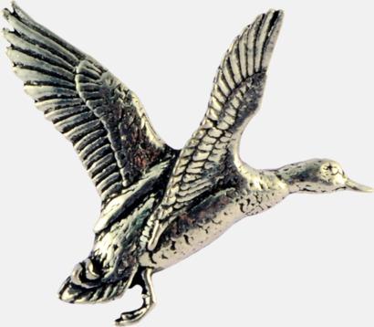 And Engelska, handgjorda broscher med jaktmotiv