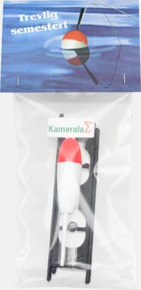 Ryttare (se tillval) Presentset för fiskaren - med reklamtryck