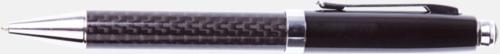 Bläckpenna Pennset i kolfiber med reklamtryck
