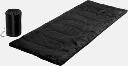 Svart Sovsäckar med reklamtryck