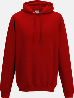 Sunset Red Billiga collegetröjor i unisexmodell - med tryck