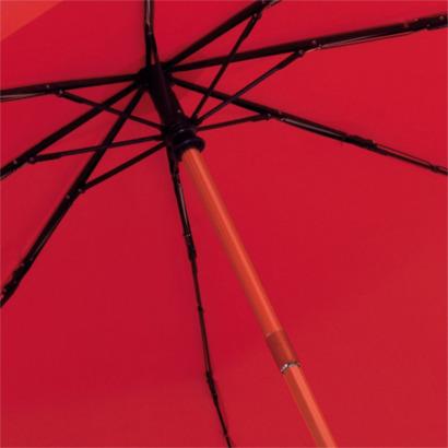 Kompaktparaplyer med automatisk uppfällning