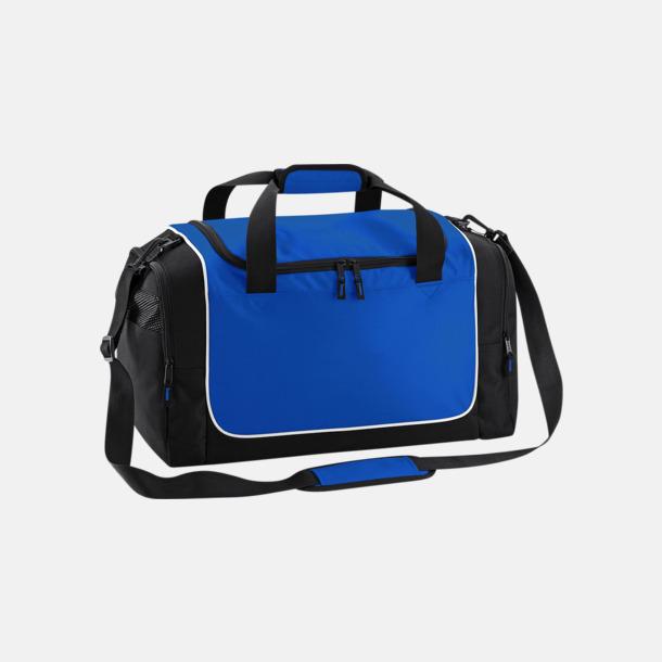 Bright Royal/Svart/Vit Kompakta träningsväskor med reklamtryck