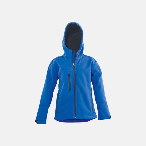 Royal Blue (barn) Softshell jackor i herr-, dam- & barnmodell med reklamtryck