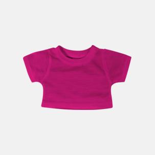 Enfärgade t-shirts för gosedjur - med reklamtryck