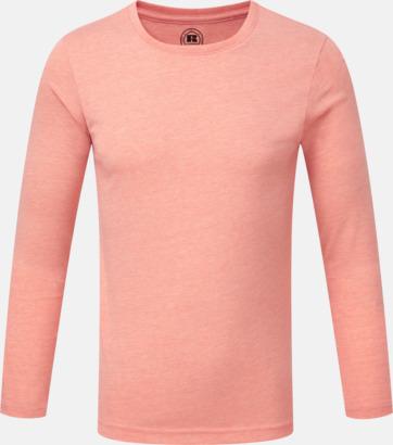 Coral Marl (pojke) Färgstarka långärms t-shirts i herr-, dam och barnmodell