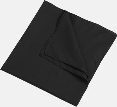 Svart (scarf) Bandanas i två varianter med reklambrodyr