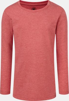 Red Marl (flicka) Färgstarka långärms t-shirts i herr-, dam och barnmodell