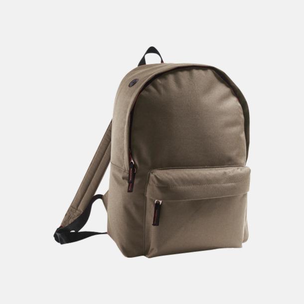 Army Billiga ryggsäckar med ege tryck