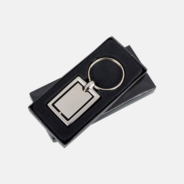 Nyckelring av metall med roterbar del