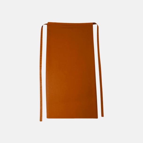 Copper Långa förkläden i många färger med reklamtryck