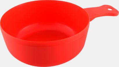 Röd Matkåsor med tryck