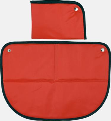 Röd Sittunderlag med eget tryck