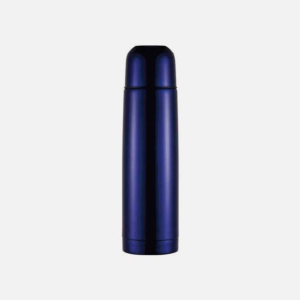 Marinblå Färgglada termosar med tryck
