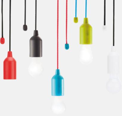 1W vit LED-lampor med reklamtryck