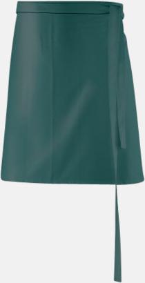 Bottle Green (80 x 45 cm) Förkläden i 5 varianter med reklamtryck