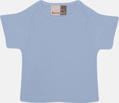Baby Blue T-shirts för de minsta barnen - med tryck