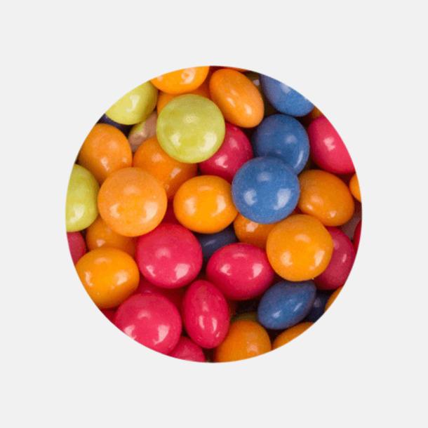Minidragéer (fruktmix) Ovala mintdosor med reklamtryck