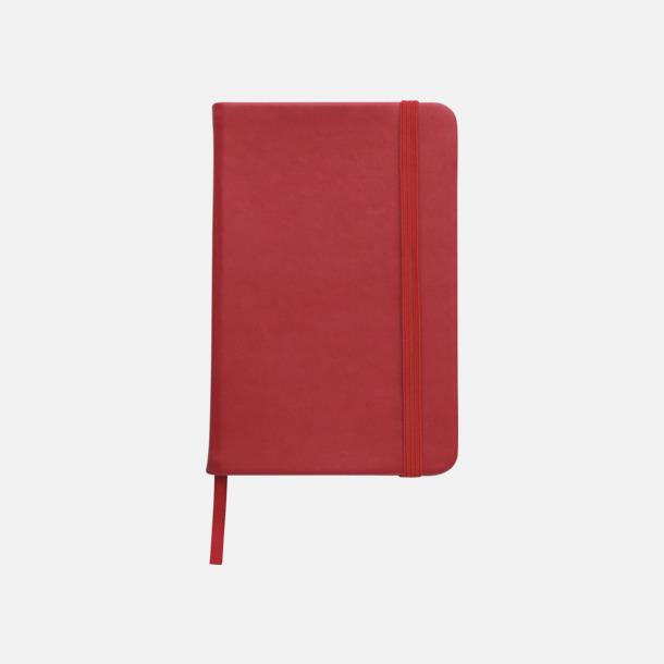 Röd Färgglada anteckningsböcker med tryck