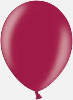 087 Plum (PMS 208 U) Ballonger i unika färger med eget tryck